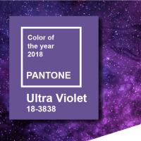 Pantone 18-3838 - Ultra Violet - A cor de 2018, segundo o Pantone