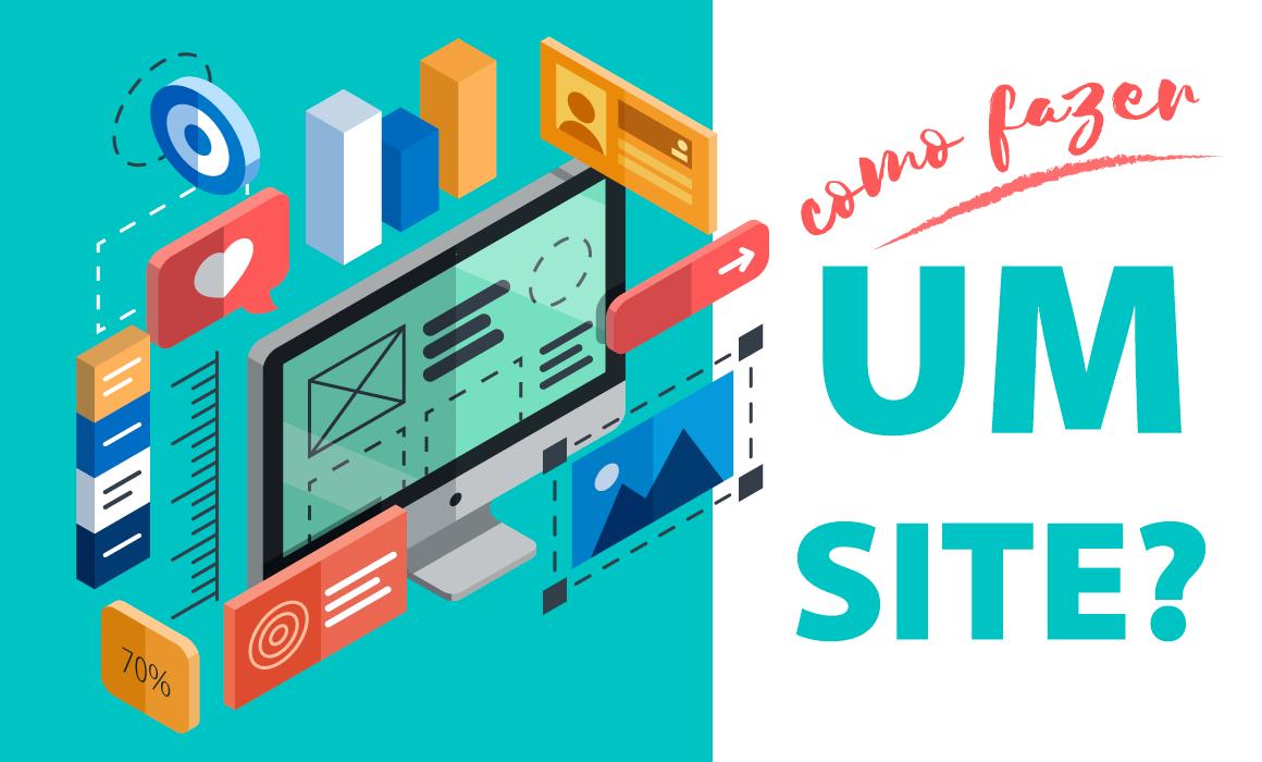 como criar um site gratis passo a passo